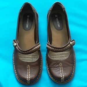 Naturalizer brown leather Mary Jane size 7.5